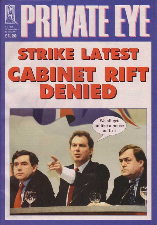 Gordon Brown Tony Blair John Prescott