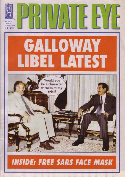 Saddam Hussein George Galloway