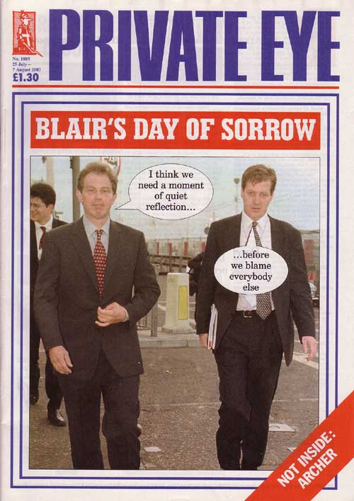 Tony Blair Alastair Campbell