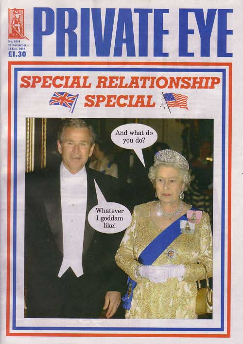 George W Bush The Queen