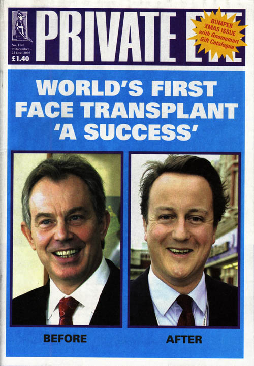 Tony Blair David Cameron