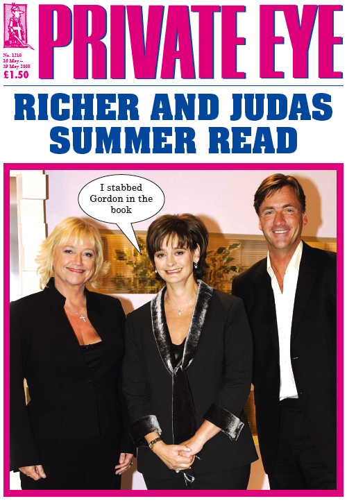 Cherie Blair Richard Madeley Judy Finnigan
