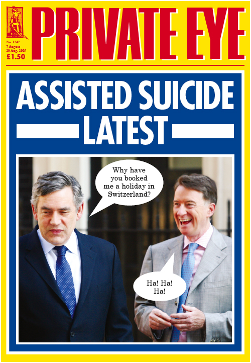 Gordon Brown Peter Mandelson