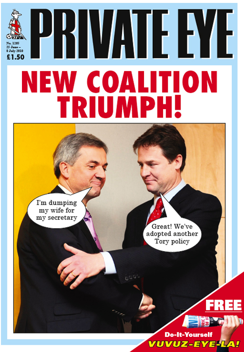 Chris Huhne Nick Clegg
