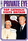 Pope Benedict XVI Tony Blair