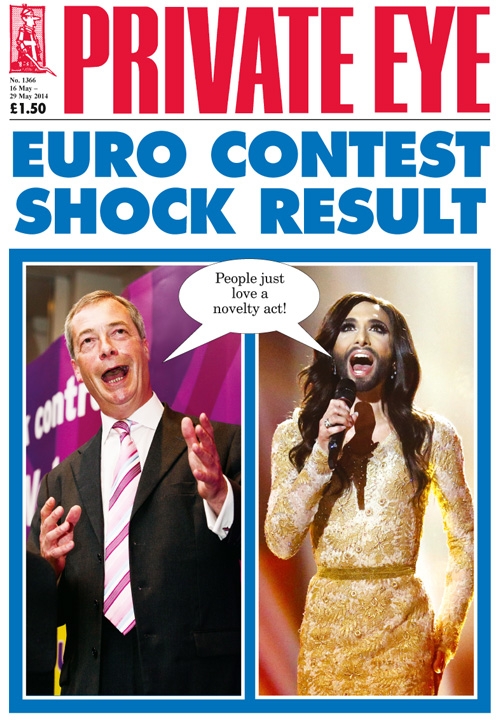 Nigel Farage Conchita Wurst