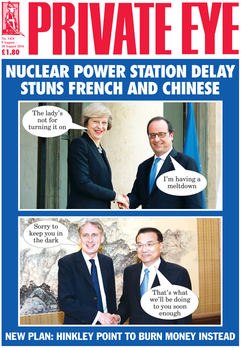 Theresa May Francois Hollande Philip Hammond Li Keqiang