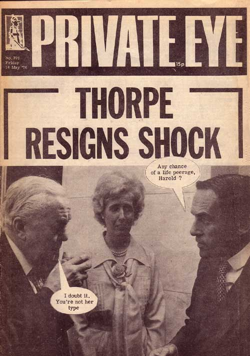 Harold Wilson Marcia Williams Jeremy Thorpe