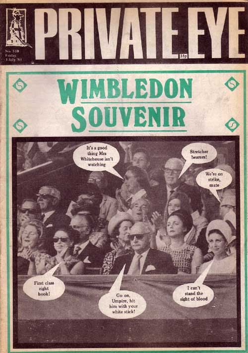 Wimbledon Princess Margaret