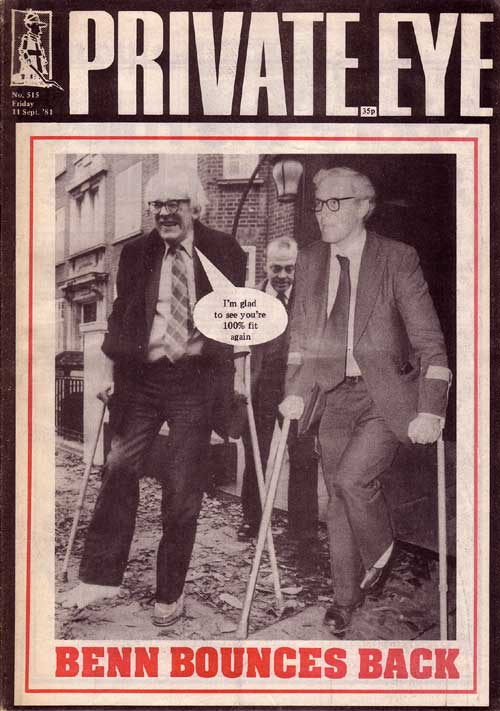 Michael Foot Tony Benn