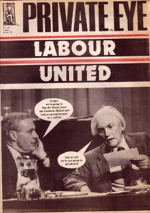 Tony Benn Michael Foot