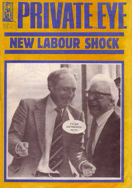 Neil Kinnock Michael Foot