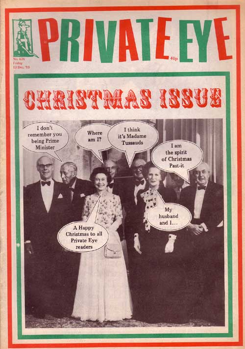 Christmas Harold Macmillan Denis Thatcher The Queen Margaret Thatcher Harold Wilson Jim Callaghan Alec Douglas-Home