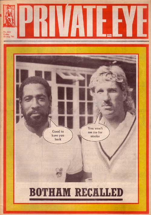 Ian Botham Viv Richards