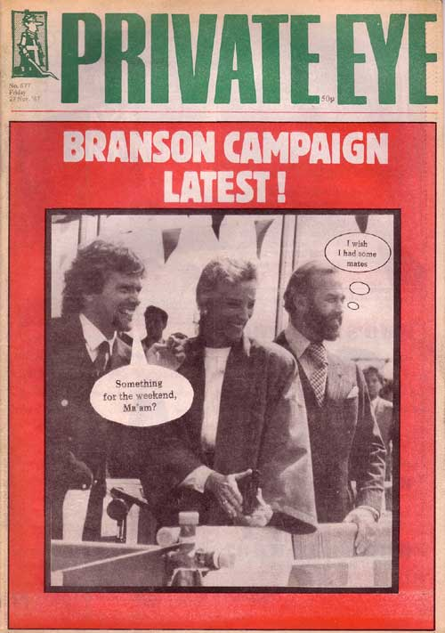 Richard Branson Princess Michael of Kent Prince Michael of Kent