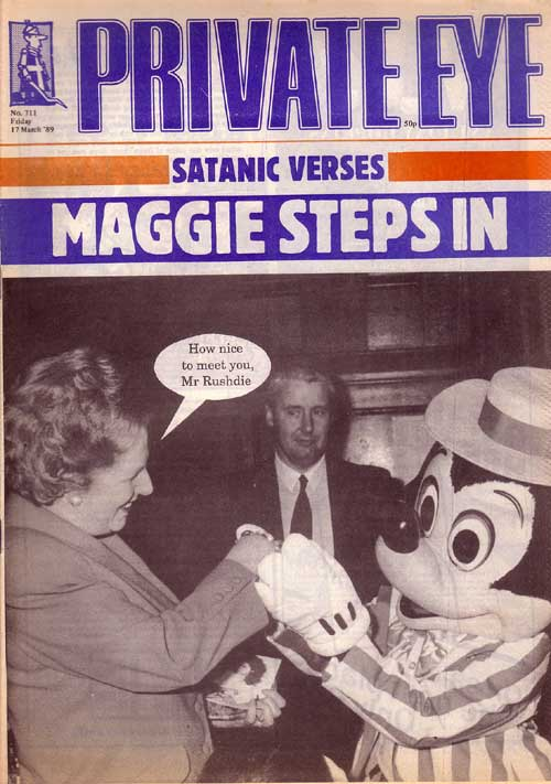 Margaret Thatcher Mickey Mouse