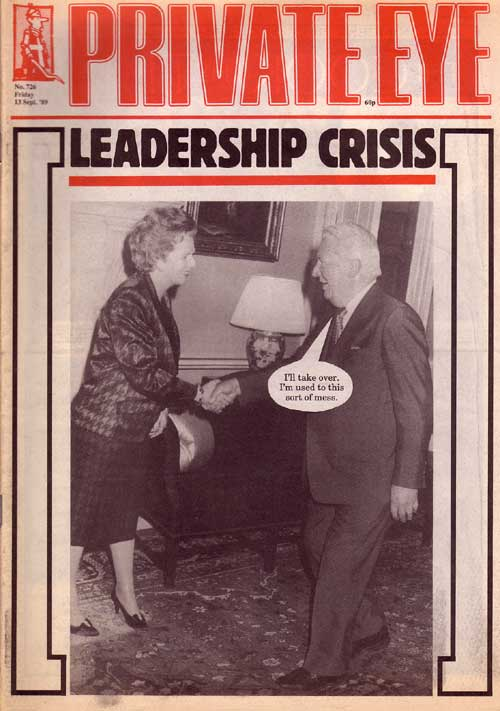 Margaret Thatcher Ted Heath