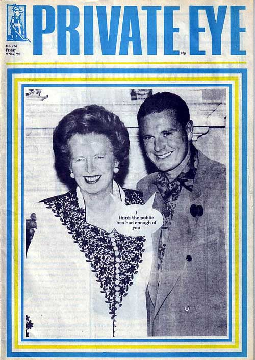 Margaret Thatcher Paul Gascoigne