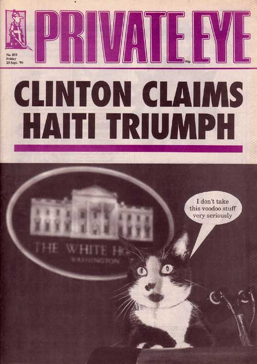The Clinton's Cat