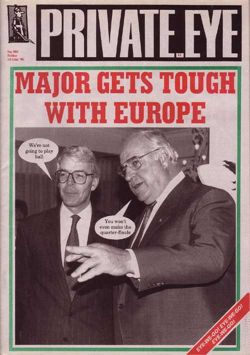Helmut Kohl John Major