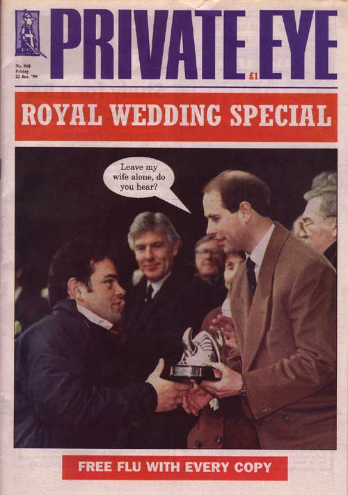 Prince Edward Will Carling