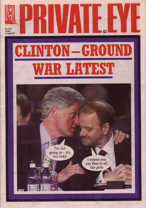 Bill Clinton Robin Cook