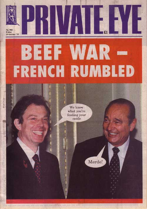 Tony Blair Jacques Chirac