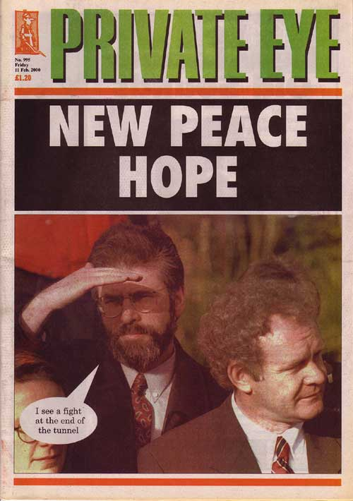 Martin McGuinness Gerry Adams