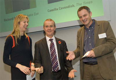 Paul Foot 2008 Richard Brooks Camilla Cavendish Ian Hislop